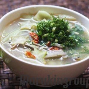 cá cơm khô nấu canh khế kiểu xứ Nghệ