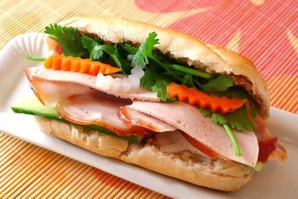 ベトナム焼き豚バインミー