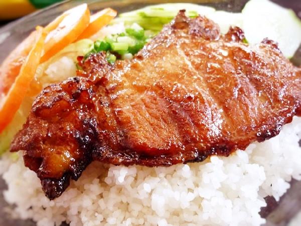 サイゴン風焼き豚ご飯