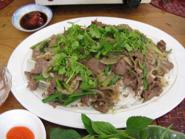 牛肉フォー炒め980円