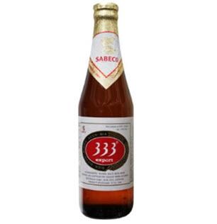333ビール(瓶)