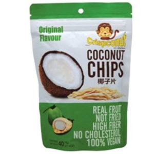 ココナッツチップス       (オリジナル) 内容量 40g メーカー JD Food Products