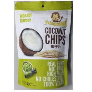 ココナッツチップス    (ワサビフレーバー) 内容量 40g メーカー JD Food Products